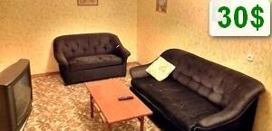 Двухкомнатная эконом квартира, метро Пушкинская 35$